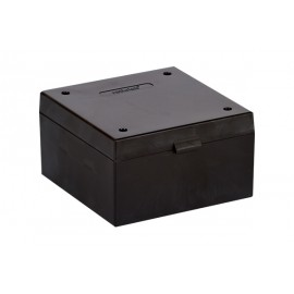 Cryo Boxes, PP, black, grid 9 x 9, 133 x 133 x 52 mm