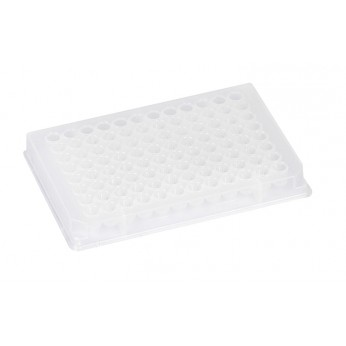 96-Well micro test plates, F-bottom, PP, sterilized