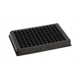 96-Well micro test plates, F-bottom, PP black