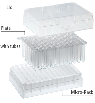 micro tubes system