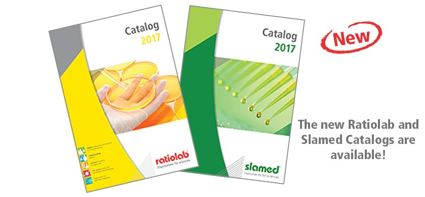 The new Ratiolab and Slamed Catalogs