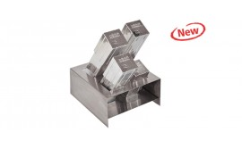 Stainless steel holder for  pipet boxes