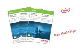 The new ratiolab® THINK! Flyer
